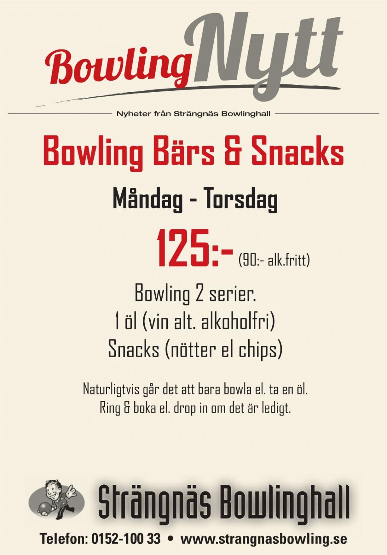 Bowling Bärs och Snacks